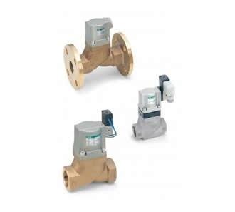 Air operated 2-port valve (Cylinder valve) SAB/SVB