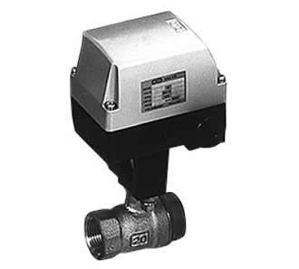 Motorized 2-port ball valve for steam (MSB)