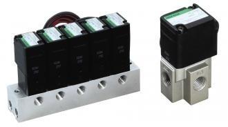 Direct acting 2, 3-port solenoid valve for dry air (special purpose valve) FGB/FGG/GFGB/GFGG