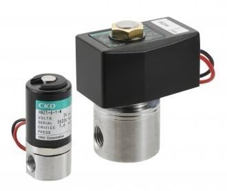 High corrosion resistant direct acting 2-port solenoid valve (HB)