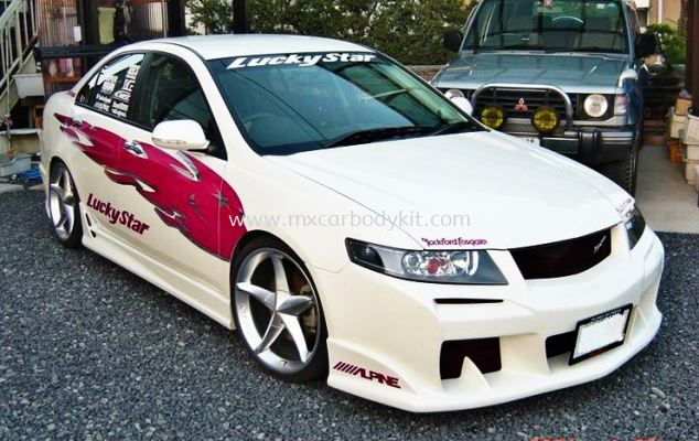 HONDA ACCORD EURO R 2006 LUCKYSTAR BODYKIT