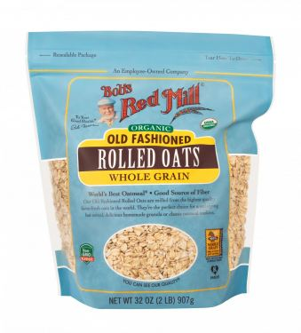 Organic Regular Rolled Oats 907g