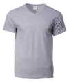 63V00 295H RS Sport Grey Cotton Round Neck Tee