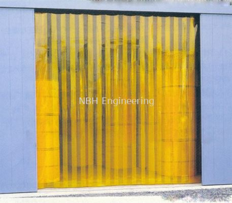 PVC Curtain (Yellow)