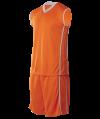 CRB 1301 Orange-Light Grey Silence Basketball CRB 1300 Sport Jersey