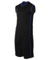 CRB 1304 Black-Royal Silence Basketball CRB 1300 Sport Jersey