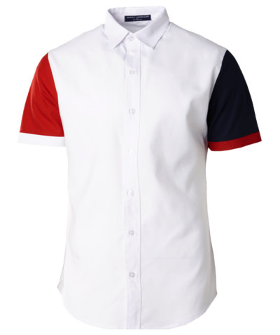 NHB 2601 White-Red-Navy