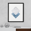 Marble Geometric Wall Decor Poster
