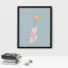 Elephant Wall Decor Poster