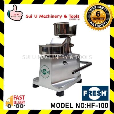 FRESH HF-100 Plate Size 10cm Hamburger Machine Bar & Snack Equipment