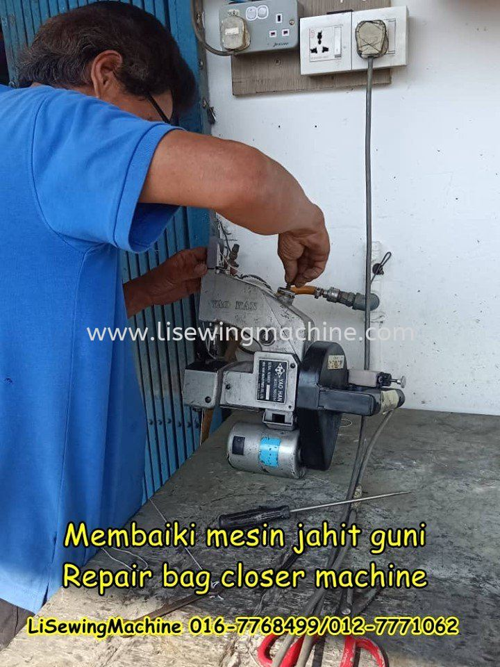 Repair bag closer machine malaysia