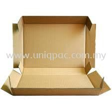 5 Panel Brown Paper Box