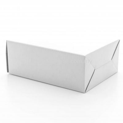 White Paper Die Cut Box