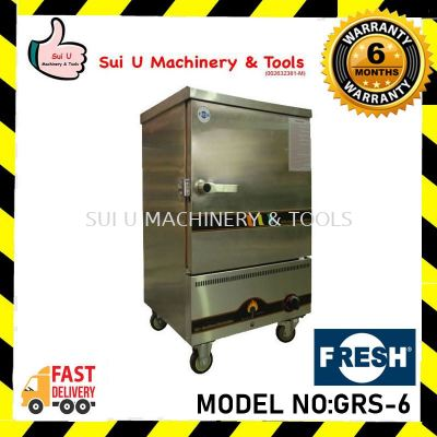 FRESH GRS-6 2.8kpa 6 Layer 1 Door Gas Steamer Cooking Equipment
