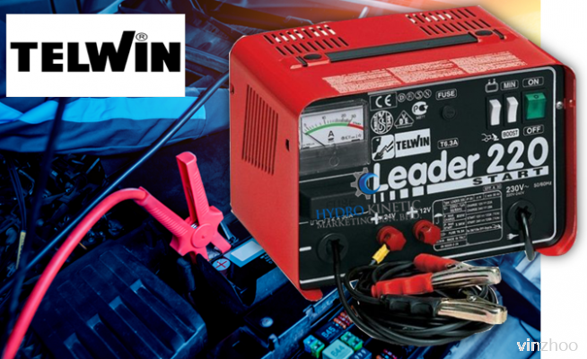Battery Charger Telwin Leader 220 Start 12/24V