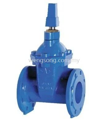 Resilient Wedge gate Sluice Valve