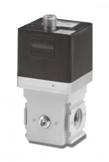 Low pressure electro pneumatic regulator (EVL)