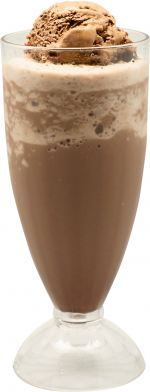 Ice Blended With Ice Cream