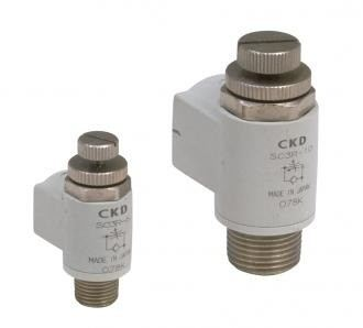 Speed controller Direct piping / elbow type (SC3R)