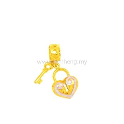 Padlock Heart Key ( 1.42 g)