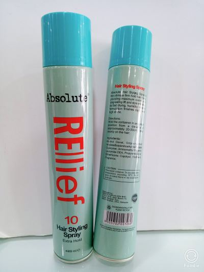 Absolute Rellief 10 Hair Styling Spray 420ML