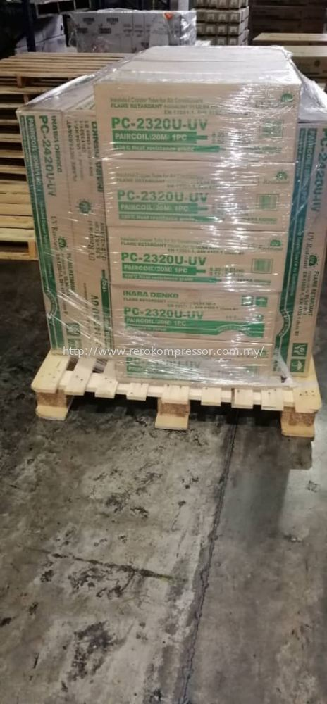 DELIVERY OF INABA DENKO PREINSULATED TWIN  TUBE