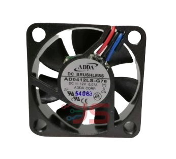 DC Fan Blower DC12V 2 Lead Wires