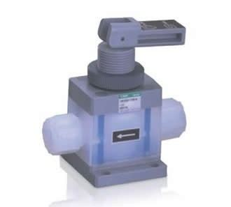 Toggle valve for chemical liquid (TMD)