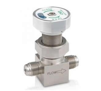 Manual valve for process gas (MGD)