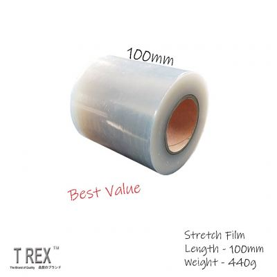100mm x 440g x 40g Core  - Stretch Film