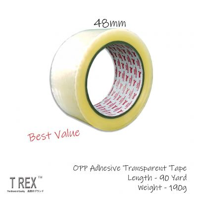 48mm (2 Inch) x 90 Yard (80m) - OPP Adhesive Transparent Packaging Tape