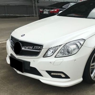 MERCEDES BENZ W207 COUPE 2010 SPORT PACKAGE FRONT BUMPER