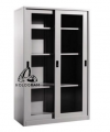 FULL HEIGHT CUPBOARD GLASS SLIDING DOOR Steel Cupboard/Locker/Cabinet Steel Furniture Office Furniture