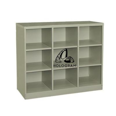 9 PIGEON HOLES CABINET