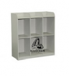 6 PIGEON HOLES SIDE TABLE A Steel Furniture Office Furniture