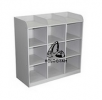 9 PIGEON HOLES SIDE TABLE Steel Cupboard/Locker/Cabinet Steel Furniture Office Furniture