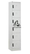 6 COMPARTMENT STEEL LOCKER Steel Cupboard/Locker/Cabinet Steel Furniture Office Furniture