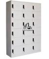 18 DOOR STEEL LOCKER A Steel Furniture Office Furniture