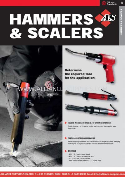 9.02.6 CP Hammers & scalers