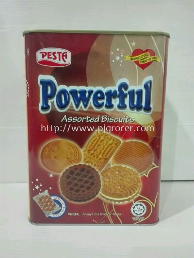 Pesta Powerful Assorted Biscuits 625gm