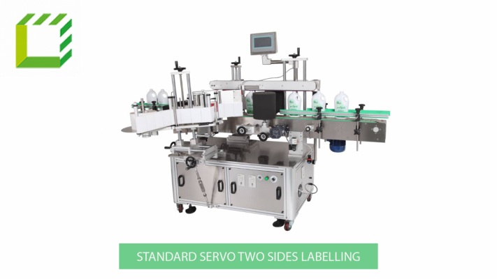 Standard servo two sides labelling
