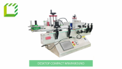 Desktop Compact Wraparound Labelling Machine (China) Fully Automatic Labelling Machines  Packaging Machines