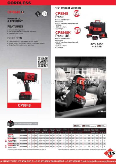 CP Impact Wrench & Driver