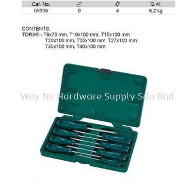 09305 - Pc Acetate Torx Screwdriver Set