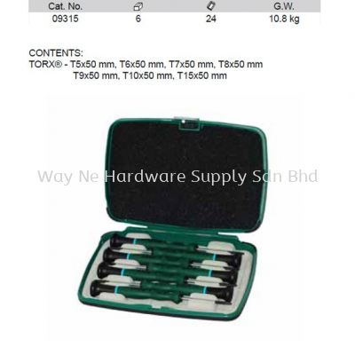 09315 - PC Precision Torx Screwdriver Set