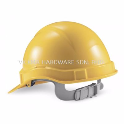 PROGUARD PG SAFETY HELMET W PLASTIC SLIDE-LOCK HARDNESS
