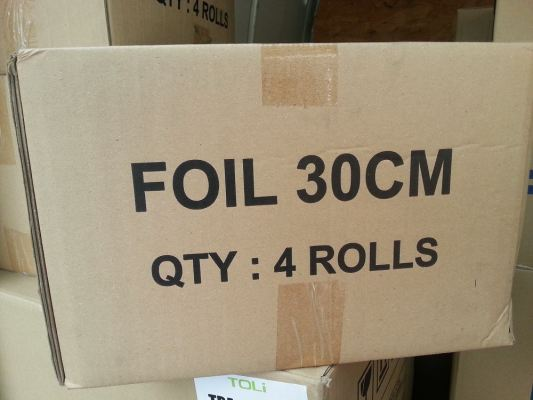 NO BRAND WHITE PACKING 300MM X 200M X 4 ROLLS