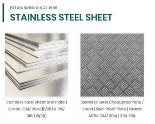 Supply SS304 sheet , chequered plate