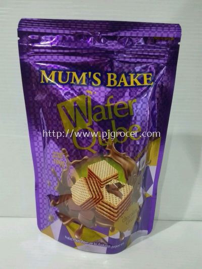 Mum's Bake Wafer Qube 100gm