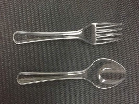 CLEAR FORK SPOON 2000PCS/ CTN